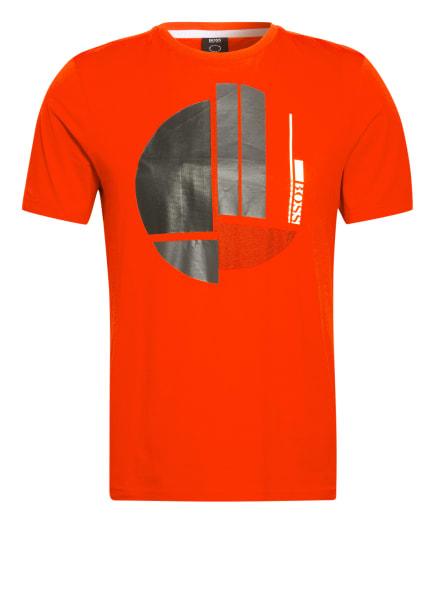 BOSS T-Shirt, Farbe: ROT/ DUNKELGRAU (Bild 1)