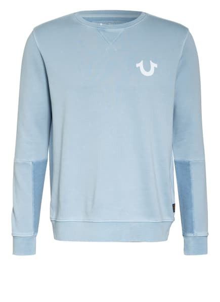 TRUE RELIGION Sweatshirt, Farbe: HELLBLAU (Bild 1)