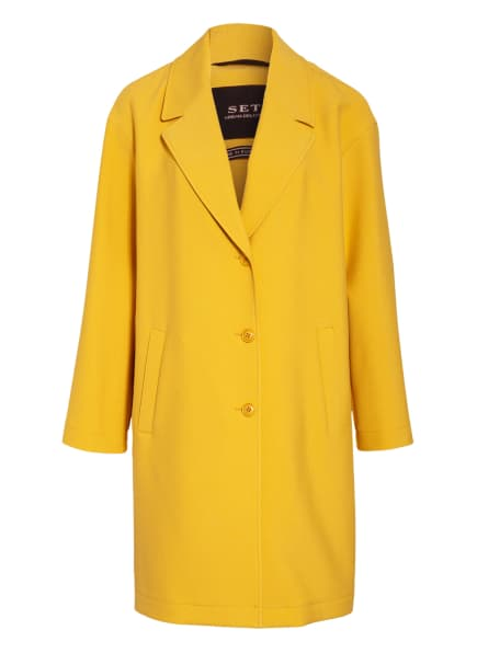 SET Mantel , Farbe: DUNKELGELB (Bild 1)
