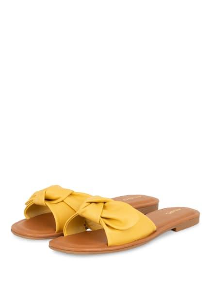 ALDO Pantoletten ABAYRITH, Farbe: GELB (Bild 1)