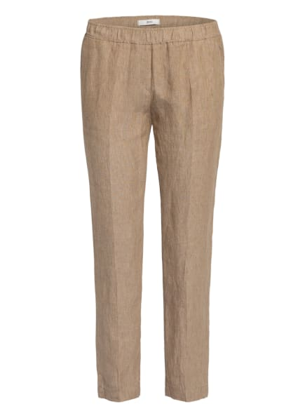 BRAX Leinenhose MARON, Farbe: CAMEL (Bild 1)