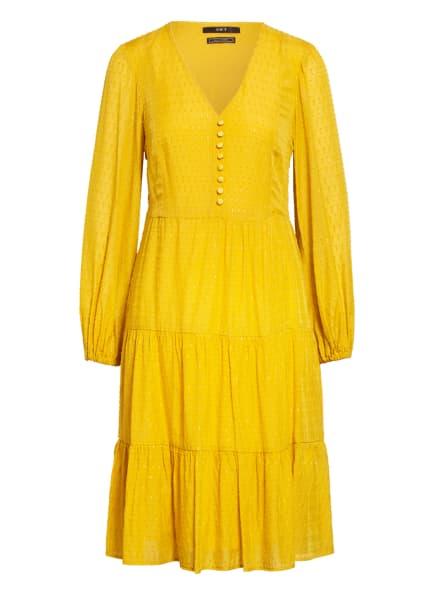 SET Kleid mit Glitzergarn , Farbe: GELB (Bild 1)