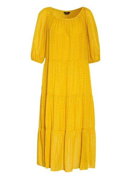 SET Kleid mit Glitzergarn, Farbe: GELB (Bild 1)