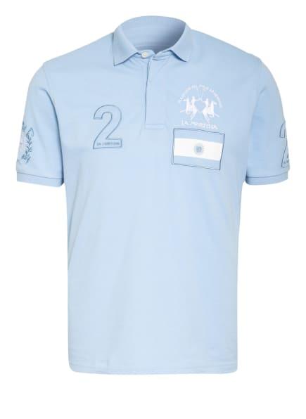 LA MARTINA Piqué-Poloshirt Regular Fit, Farbe: HELLBLAU (Bild 1)