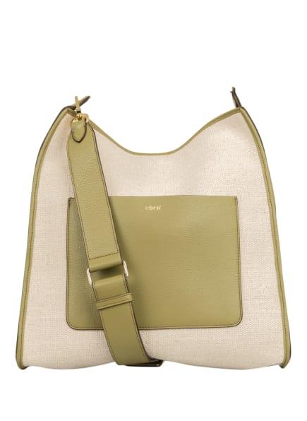 abro Hobo-Bag RAQUEL mit Pouch , Farbe: CREME/ OLIV (Bild 1)