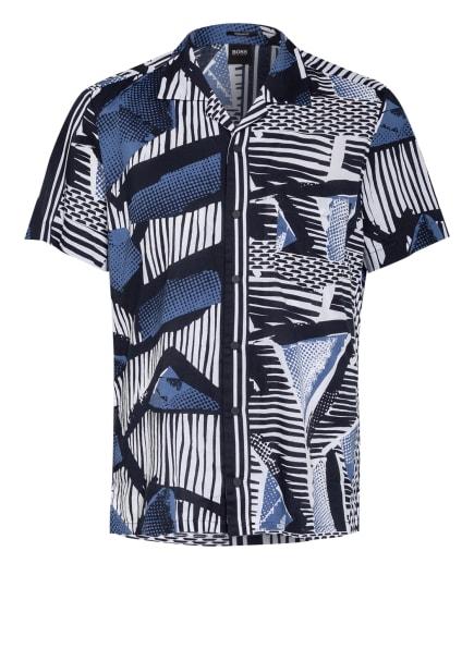 BOSS Resorthemd RHYTHM Regular Fit, Farbe: WEISS/ SCHWARZ/ DUNKELBLAU (Bild 1)