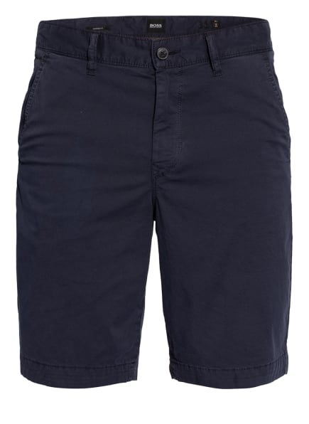BOSS Chino-Shorts SCHINO Tapered Fit, Farbe: DUNKELBLAU (Bild 1)