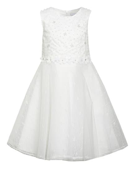 happy girls Kleid mit Schmucksteinbesatz, Farbe: WEISS (Bild 1)