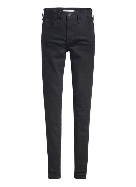 Levi's® Skinny Jeans 720, Farbe: 07 Blacks (Bild 1)