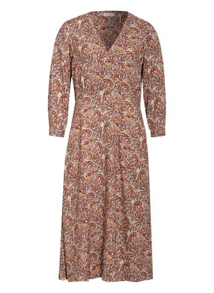 CINQUE Kleid CIDARIS mit 3/4-Arm, Farbe: DUNKELROT/ ORANGE/ DUNKELGELB (Bild 1)