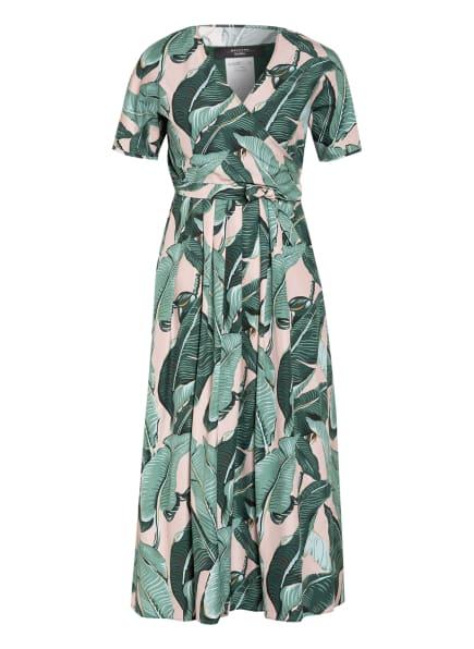 WEEKEND MaxMara Kleid ABBOZZI, Farbe: GRÜN/ HELLGRÜN/ HELLROSA (Bild 1)