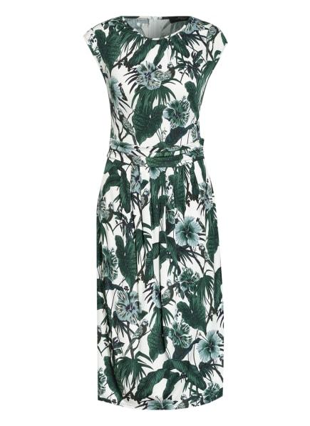 WEEKEND MaxMara Kleid UVETTA, Farbe: GRÜN/ WEISS/ DUNKELGRÜN (Bild 1)