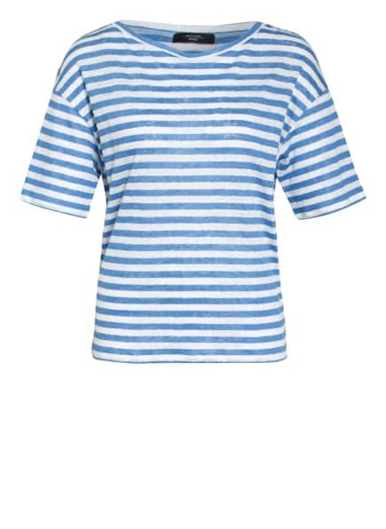 WEEKEND MaxMara Leinenshirt, Farbe: BLAU/ WEISS (Bild 1)