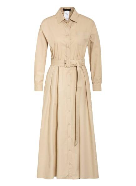 WEEKEND MaxMara Hemdblusenkleid, Farbe: CREME (Bild 1)