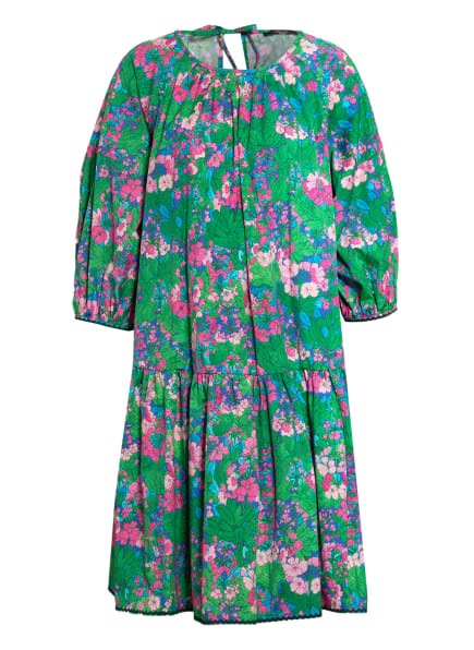 WEEKEND MaxMara Kleid PEPAIA mit 3/4-Arm, Farbe: GRÜN/ PINK/ BLAU (Bild 1)