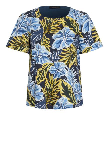 WEEKEND MaxMara Blusenshirt , Farbe: DUNKELBLAU/ HELLBLAU/ HELLGRÜN (Bild 1)