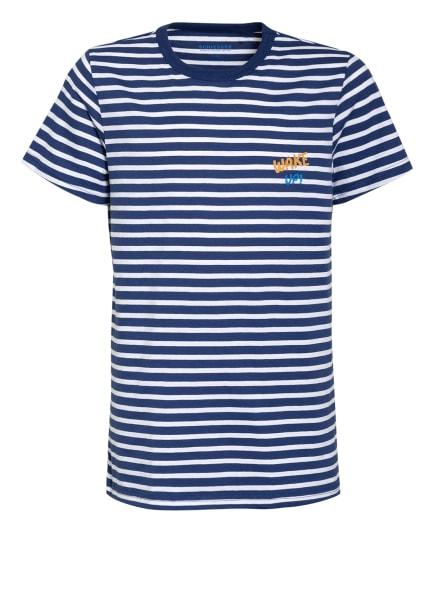 SCHIESSER Shorty-Schlafanzug, Farbe: DUNKELBLAU/ WEISS (Bild 1)