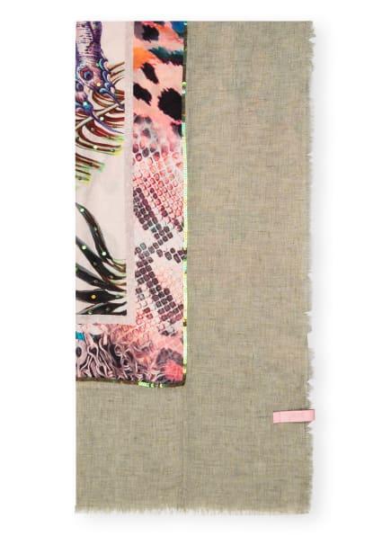 yess Tuch ISABELLE mit Paillettenbesatz, Farbe: HELLGRÜN/ PINK/ HELLROSA (Bild 1)