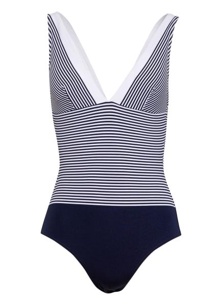 IODUS Badeanzug LEZAKA, Farbe: BLAU/ WEISS (Bild 1)