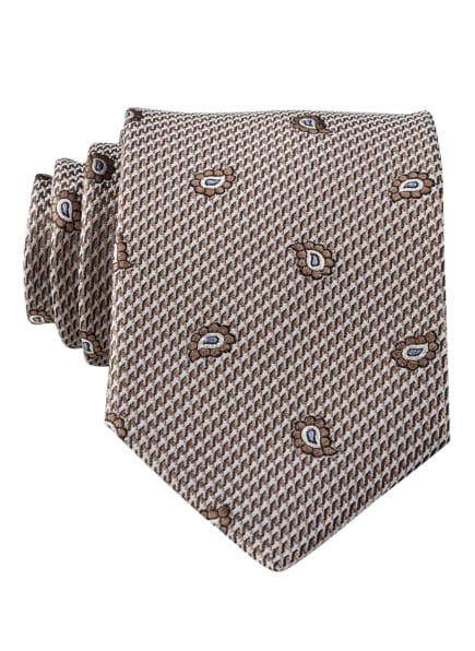 CG CLUB of GENTS Krawatte, Farbe: BRAUN (Bild 1)