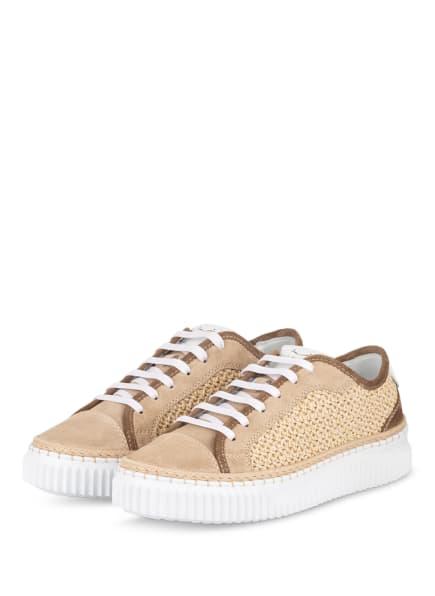 VOILE BLANCHE Plateau-Sneaker MAIORCA, Farbe: BEIGE (Bild 1)