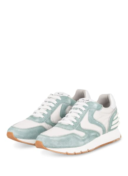 VOILE BLANCHE Plateau-Sneaker JULIA POWER, Farbe: WEISS/ MINT (Bild 1)