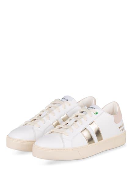 WOMSH Sneaker KINGSTON, Farbe: WEISS/ GOLD (Bild 1)