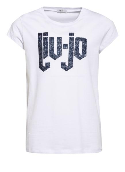 LIU JO T-Shirt, Farbe: WEISS/ DUNKELBLAU (Bild 1)