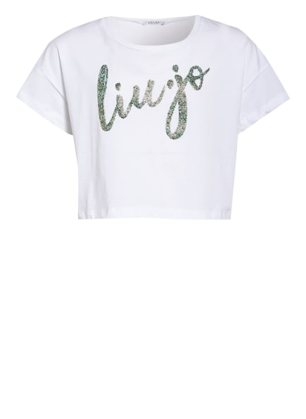 LIU JO Cropped-Shirt, Farbe: WEISS (Bild 1)