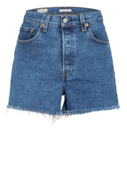Levi's® Jeans-Shorts RIBCAGE, Farbe: 30 Med Indigo - Worn In (Bild 1)