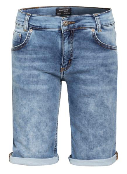 BLUE EFFECT Jeans-Shorts, Farbe: HELLBLAU/ DUNKELBLAU (Bild 1)