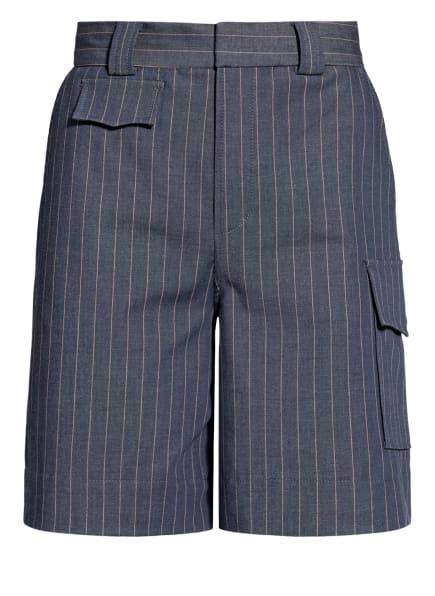 GANNI Shorts , Farbe: BLAU/ HELLORANGE (Bild 1)