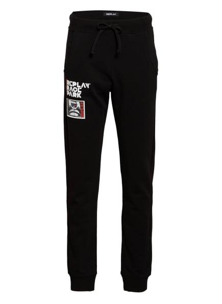 REPLAY Sweatpants, Farbe: SCHWARZ (Bild 1)