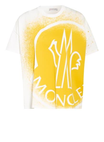 MONCLER T-Shirt, Farbe: WEISS/ DUNKELGELB (Bild 1)