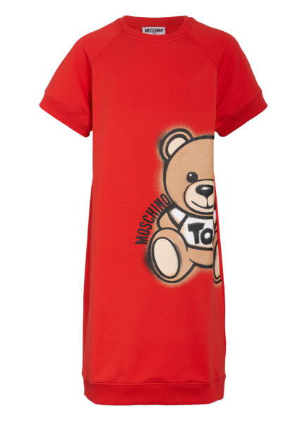 MOSCHINO Jerseykleid, Farbe: ROT (Bild 1)