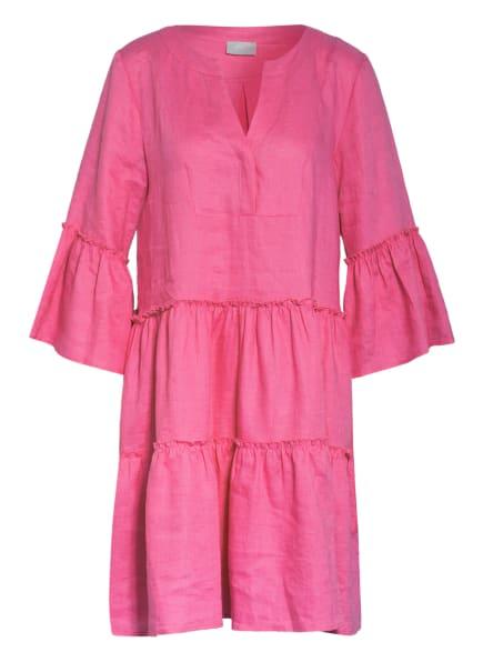 Mrs & HUGS Leinenkleid , Farbe: PINK (Bild 1)