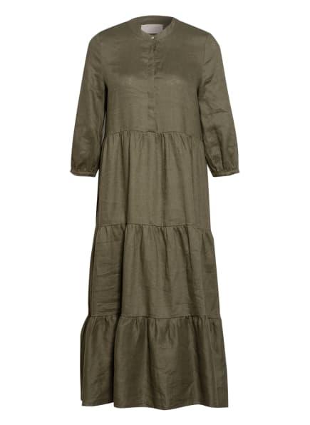 Mrs & HUGS Leinenkleid , Farbe: KHAKI (Bild 1)