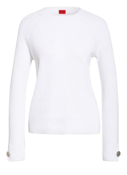 HUGO Pullover , Farbe: WEISS (Bild 1)