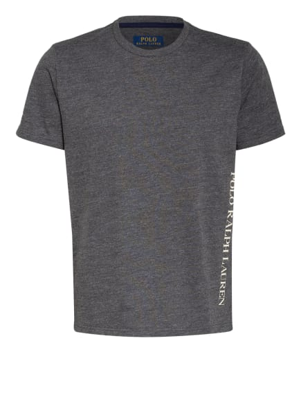 POLO RALPH LAUREN Lounge-Shirt, Farbe: DUNKELGRAU (Bild 1)