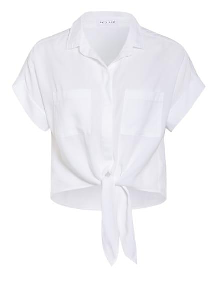 bella dahl Cropped-Hemdbluse , Farbe: WEISS (Bild 1)