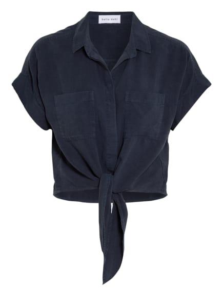 bella dahl Cropped-Hemdbluse , Farbe: DUNKELBLAU (Bild 1)