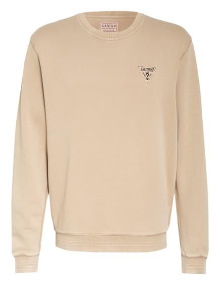 GUESS Sweatshirt, Farbe: BEIGE (Bild 1)