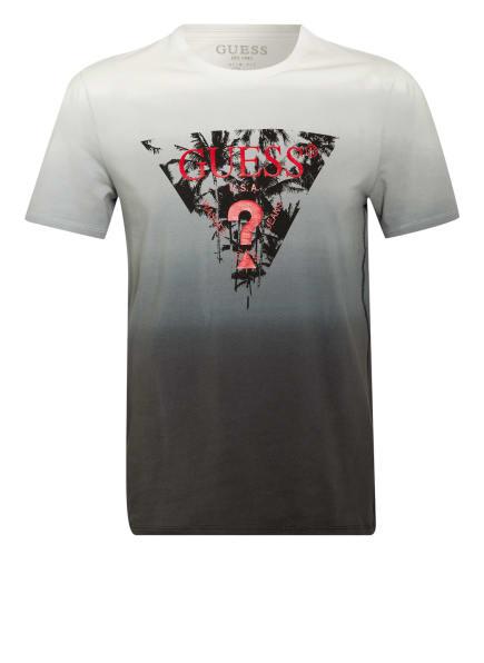 GUESS T-Shirt , Farbe: HELLGRAU/ DUNKELGRAU (Bild 1)