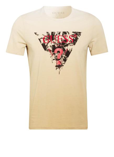 GUESS T-Shirt , Farbe: BEIGE/ ECRU (Bild 1)