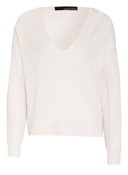 360CASHMERE Cashmere-Pullover, Farbe: WEISS (Bild 1)