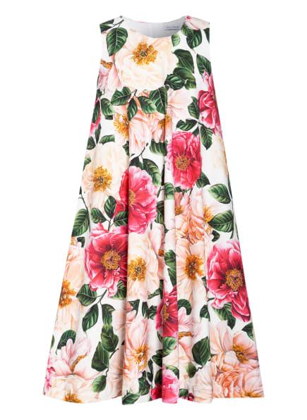 DOLCE&GABBANA Kleid, Farbe: WEISS/ GRÜN/ PINK (Bild 1)