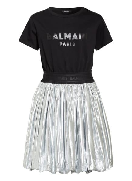 BALMAIN Kleid , Farbe: SILBER/ SCHWARZ (Bild 1)