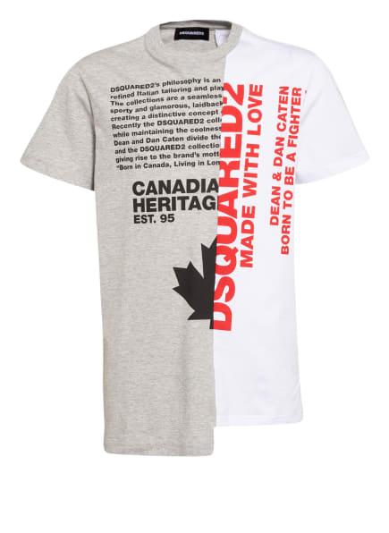 DSQUARED2 T-Shirt, Farbe: WEISS/ GRAU (Bild 1)
