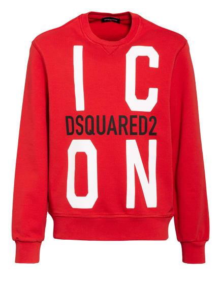DSQUARED2 Sweatshirt, Farbe: ROT/ WEISS/ SCHWARZ (Bild 1)