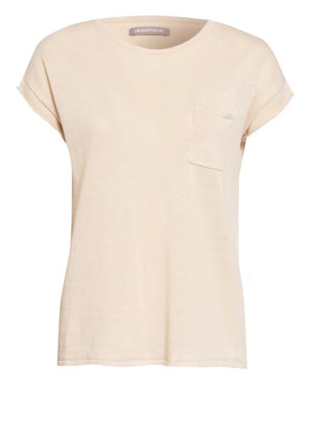 HEMISPHERE T-Shirt aus Leinen, Farbe: CREME (Bild 1)
